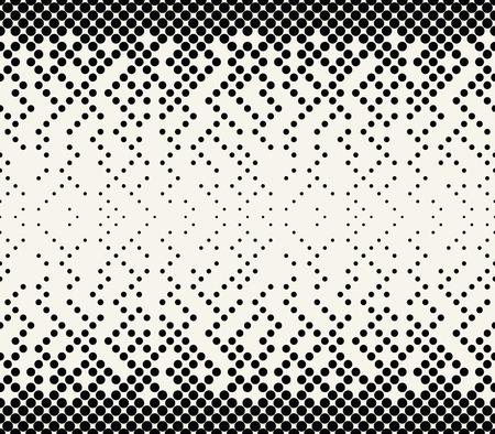 abstrakcyjny wzór geometryczny wektor półtonów Ilustracje wektorowe