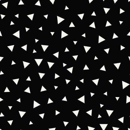 memphis style triangle seamless pattern  イラスト・ベクター素材