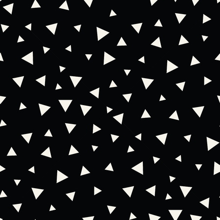 Memphis stijl driehoek naadloos patroon