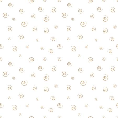 memphis style spiral seamless pattern Stock Illustratie