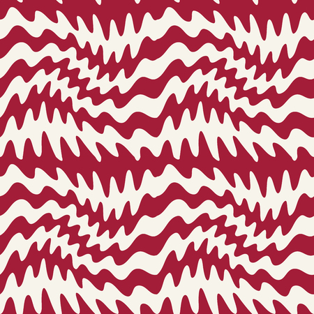 abstract wavy stripes seamless pattern