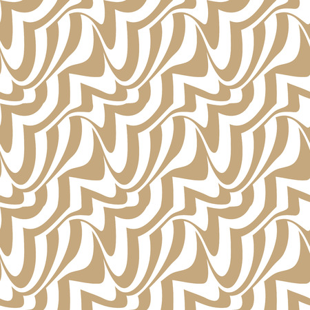 Abstract geometric decorative art seamless pattern