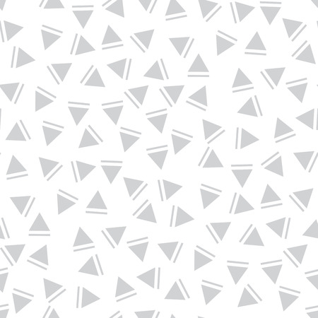 memphis style triangle seamless pattern Illustration