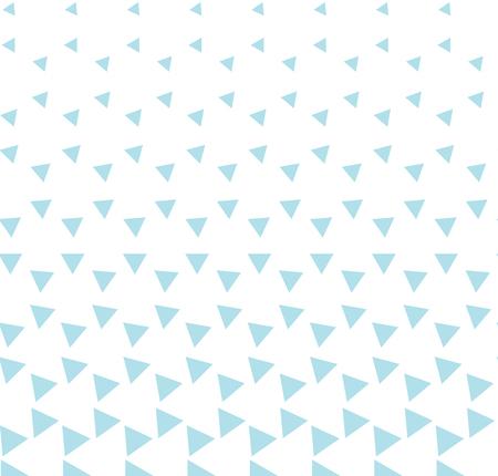 Patrón de triángulo de impresión de diseño de moda hipster geométrico abstracto Ilustración de vector
