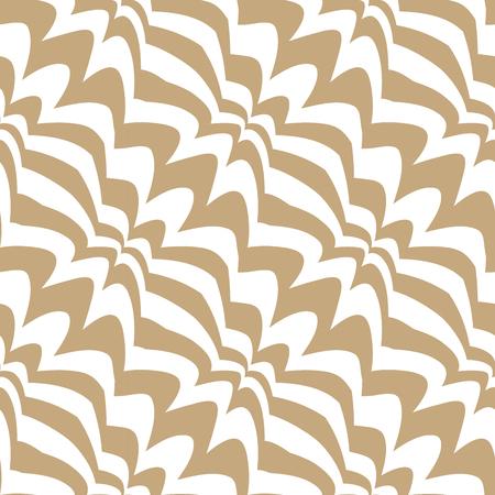 Patrón transparente de arte decorativo geométrico abstracto Ilustración de vector