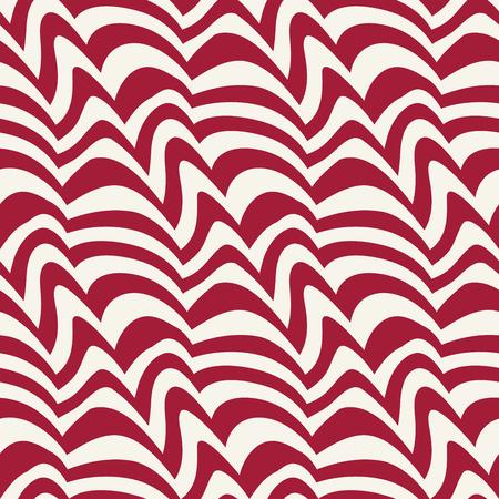 Abstract geometric decorative art seamless pattern
