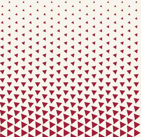 Patrón de triángulo de impresión de diseño de moda hipster geométrico abstracto