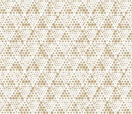 geometric triangle seamless pattern dot design