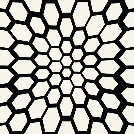 hexagon trippy seamless pattern, minimal geometric background print texture