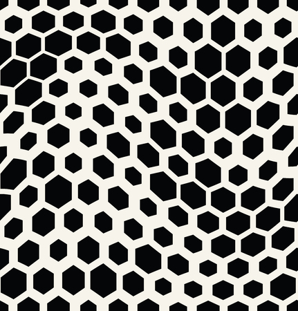 hexagon trippy seamless pattern, minimal geometric background print texture
