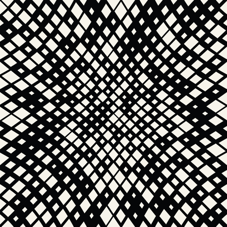 square trippy seamless pattern, minimal geometric background print texture