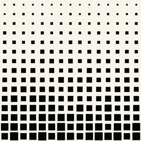 square halftone seamless pattern, minimal geometric background border texture
