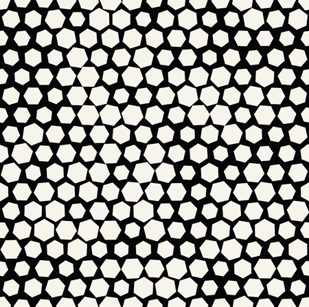 hexagon halftone seamless minimal design pattern, geometric background print texture 矢量图像
