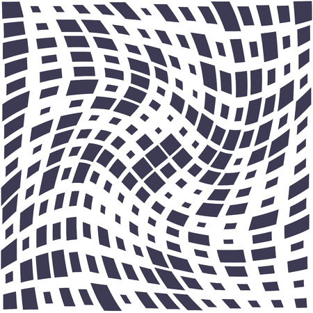 vierkant trippy naadloos patroon, minimale geometrische achtergrondafdruktextuur