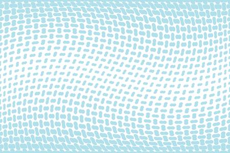 fading seamless geometric vector border pattern Çizim