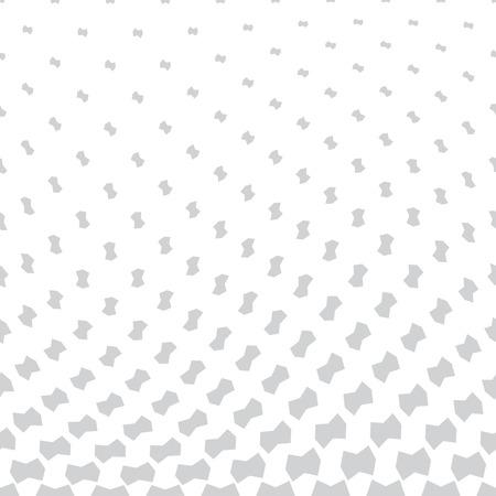 halftone geometric border pattern vector Çizim