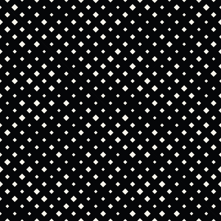 square halftone seamless pattern, minimal geometric background print texture