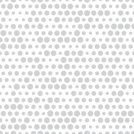 abstract seamless geometric halftone pattern Çizim