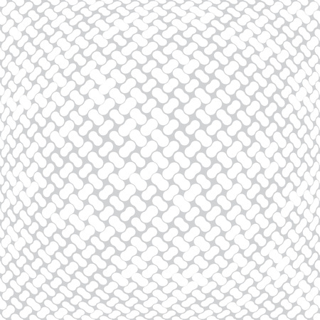 seamless geometric halftone vector pattern Stock Illustratie