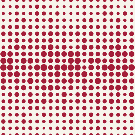 halftone dot seamless pattern, minimal geometric abstract background 矢量图像