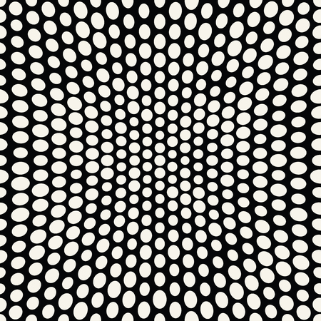abstract seamless geometric halftone pattern 矢量图像