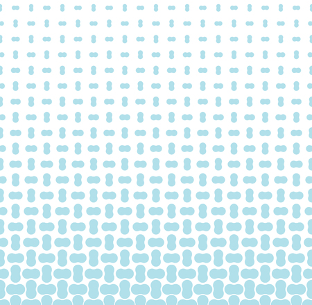 fading seamless geometric vector border pattern  イラスト・ベクター素材