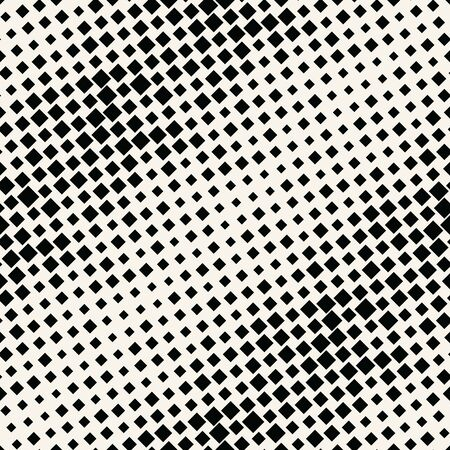 abstract geometric square halftone fading gradient pattern  イラスト・ベクター素材