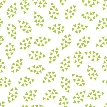 abstract geometric leaves pattern for natural background, simple minimalist graphic , retro decoration , summer fashion Foto de archivo - 129173089