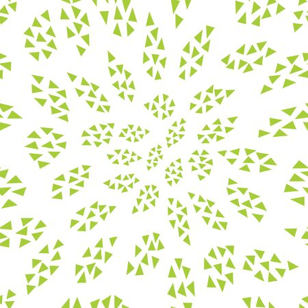 abstract geometric leaves pattern for natural background, simple minimalist graphic , retro decoration , summer fashion Foto de archivo - 129173093