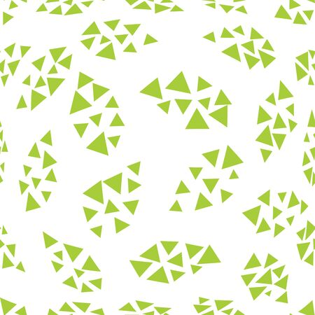 abstract geometric leaves pattern for natural background, simple minimalist graphic , retro decoration , summer fashion Foto de archivo - 129173180