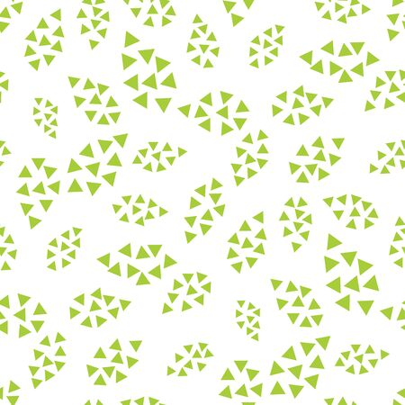 abstract geometric leaves pattern for natural background, simple minimalist graphic , retro decoration , summer fashion Foto de archivo - 129173192