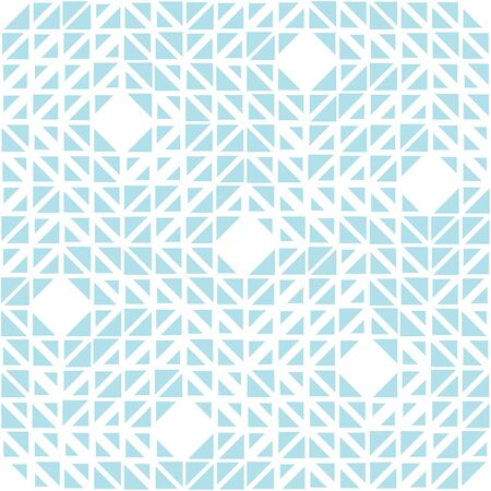 abstract seamless geometric triangle vector pattern, modern background texture, trendy fashion pillow design Ilustrace