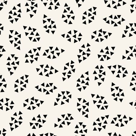 abstract geometric leaves pattern for natural background, simple minimalist graphic , retro decoration , summer fashion