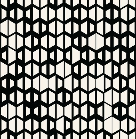 Unique geometric background pattern print design.