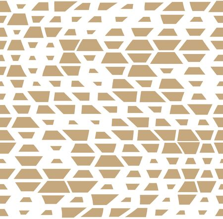 Unique geometric background pattern print design.