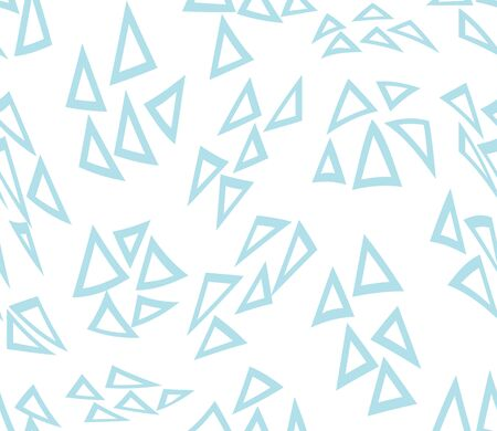 abstract geometric triangle pattern for seamless background, simple minimalist graphic , retro decoration and fabric