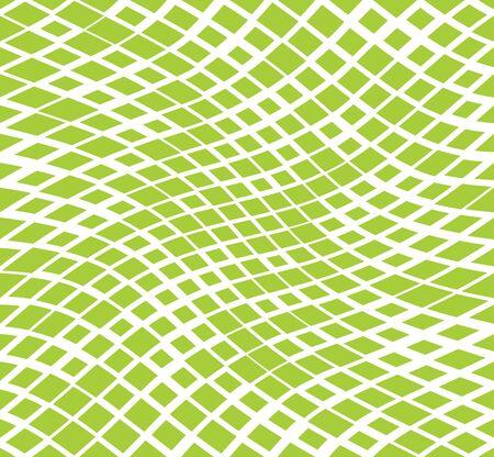 Patrón de fondo de cuadrícula cuadrada geométrica de semitono 3d