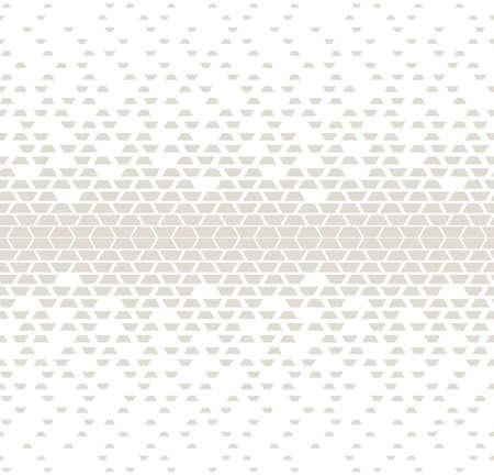 Grunge halftone geometric background pattern design.