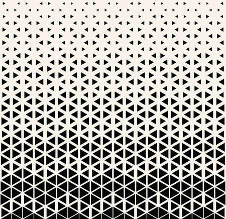 Abstract seamless geometric pattern print. Simple halftone background pattern design. Vector illustration. Stock Illustratie