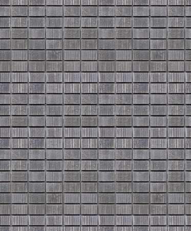 Modern wall grid pattern seamless. Vertical lines within the grid pattern concrete wall.