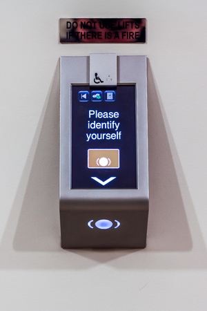 Card Scanner for lift access