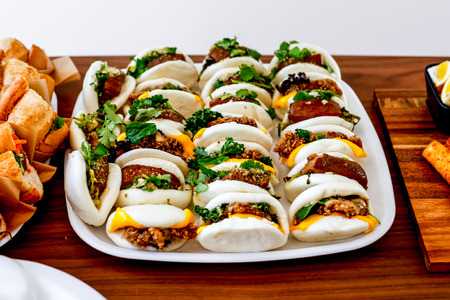 Traditional Taiwan Stuffed Pork Buns