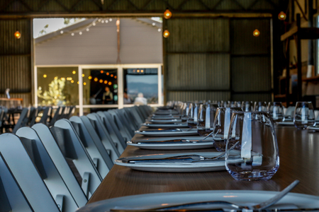Country Style Wedding Reception at a Winery