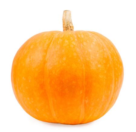 pumpkin: Calabaza en un fondo blanco, aislado de la calabaza de los veh�culos en un fondo blanco