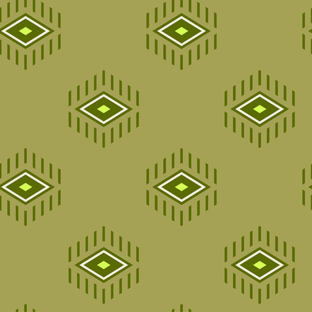 shaft: rhombus with beams, seamless pattern background
