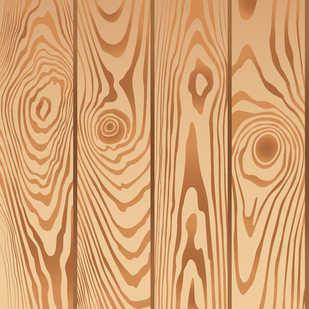 chipboard: Wood plank vector background. Realistic brown texture
