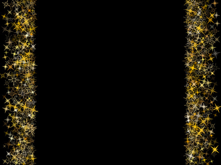 astral: Vector decorative astral pattern design for card or banner. Glow