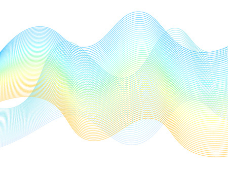 Pastel color pattern, geometric graphic design, abstract background with curve lines. Banner, poster, cover layout backdrop, abstract wavy curves pattern template.