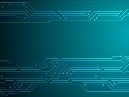 Platine oder Motherboard Textur Vektor Hintergrundgrafikdesign. Halbleiterverbindungen von Computerhardware, Mikroschaltungen, Motherboard-Elementen. Hintergrund der Prozessor-Mikrochip-Verbindungen.