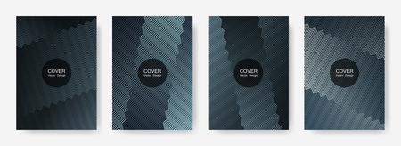 Gradient zig zag stripes texture vector backgrounds for   magazines. Simple zig zag gradient line stripes composition. Certificate backdrops design.